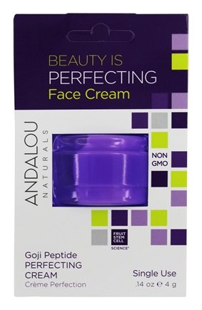 Beauty Is Perfecting Face Cream Pod Goji Peptide - 0.14 oz. by Andalou Naturals (pack of 2) The Transparent Drum skin PowerBeat 9 Skin for NG / Sombaty Darbuka Doumbek