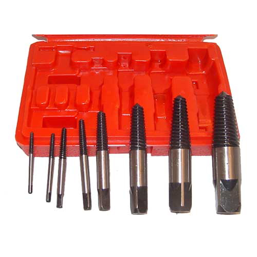 8 Pc Screw Extractor Set Easy Out Tools