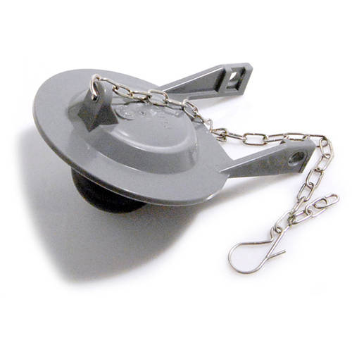 """Toto THU262 2"""" PCV Flapper with Cone (21 + 3 Links), Black"""