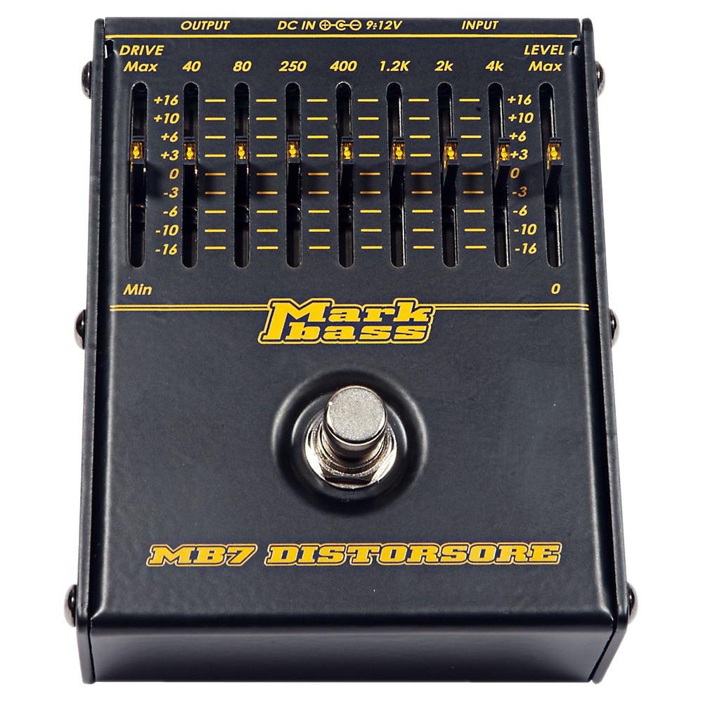 Markbass MB7 Distorsore Bass Distortion Effects Pedal by Markbass