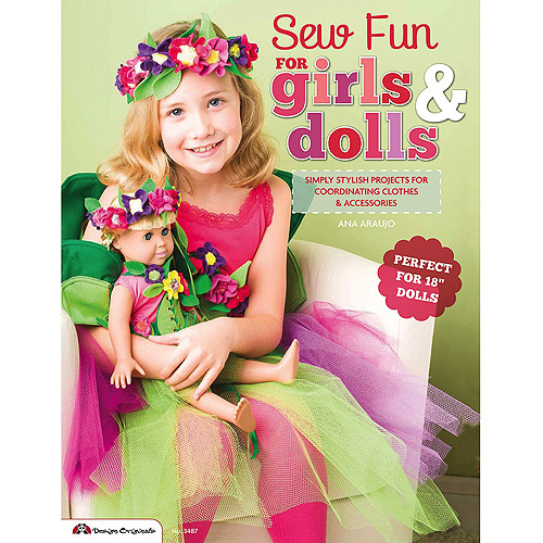 Design Originals-Sew Fun For Girls & Dolls, Pk 1, Design Originals