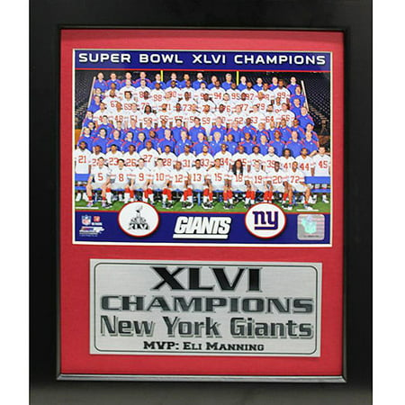 NFL New York Giants Champions Deluxe Frame, 11x14