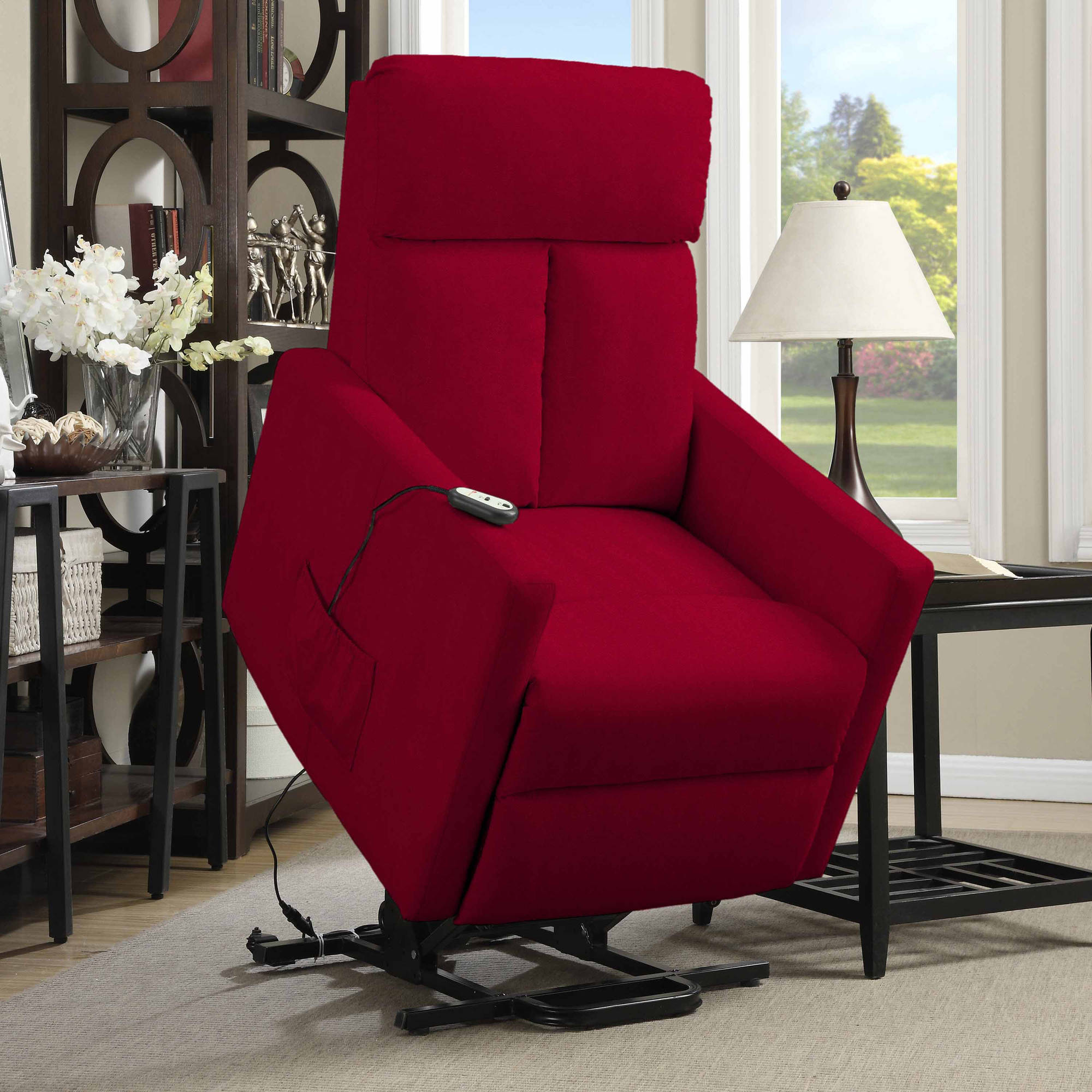 ProLounger Power Lift Chair Microfiber Recliner T Back Multiple