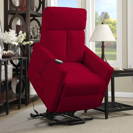 Prolounger Power Lift Chair Microfiber Recliner  T Back  Multiple Colors