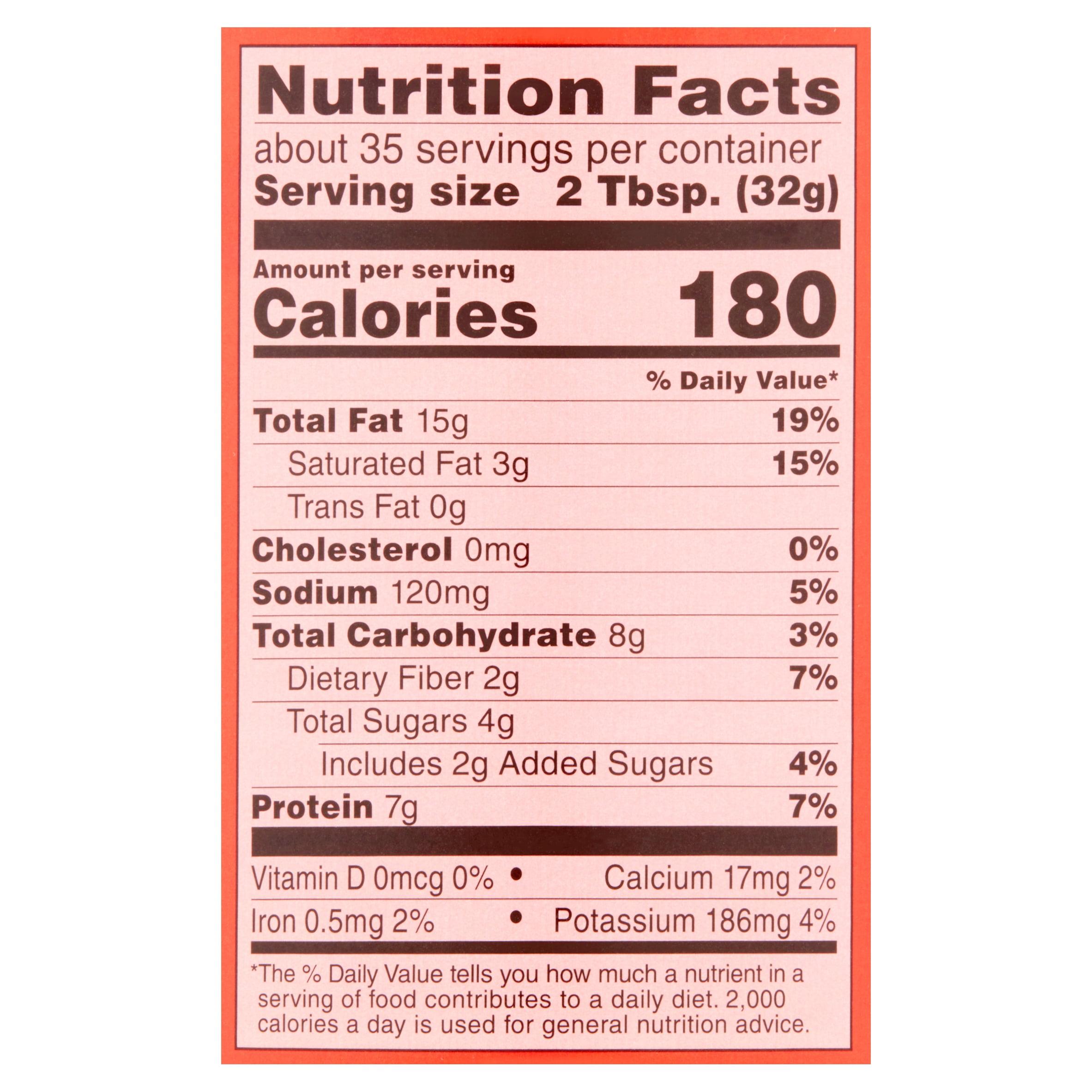 Great Value Creamy Peanut Butter 40 oz