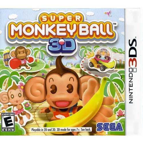 Super Monkey Ball (Nintendo 3DS)