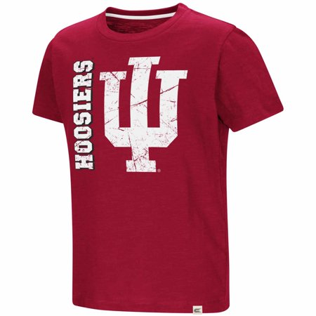 Indiana Hoosiers Youth NCAA Colossus Of Clout Short Sleeve T-Shirt  - (Iu Hoosiers Football)