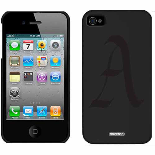 English A Design on Apple iPhone 4/4s Thinshield Snap-On Case by Coveroo