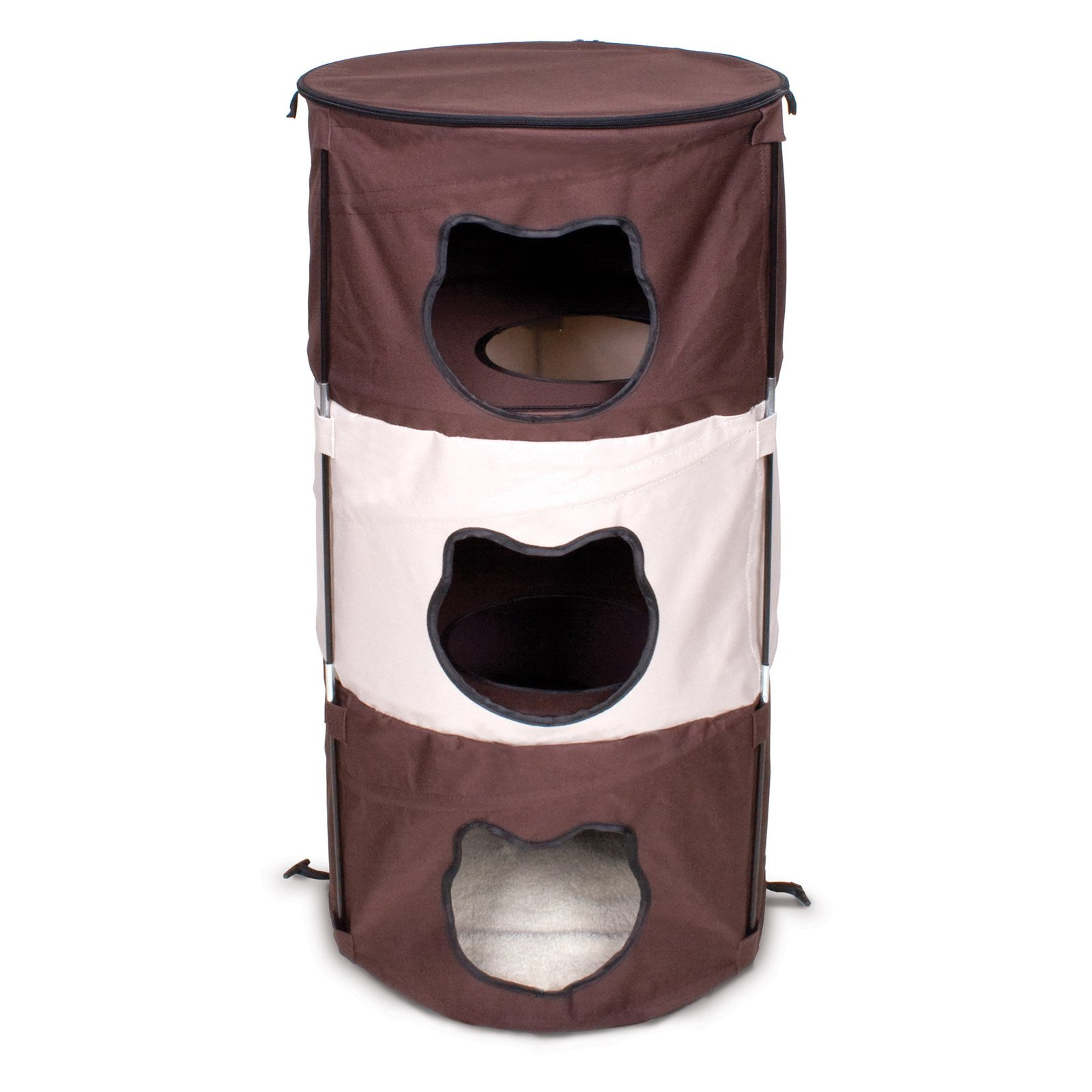Ware Manufacturing Pop Up 3 Level Kitty Condo