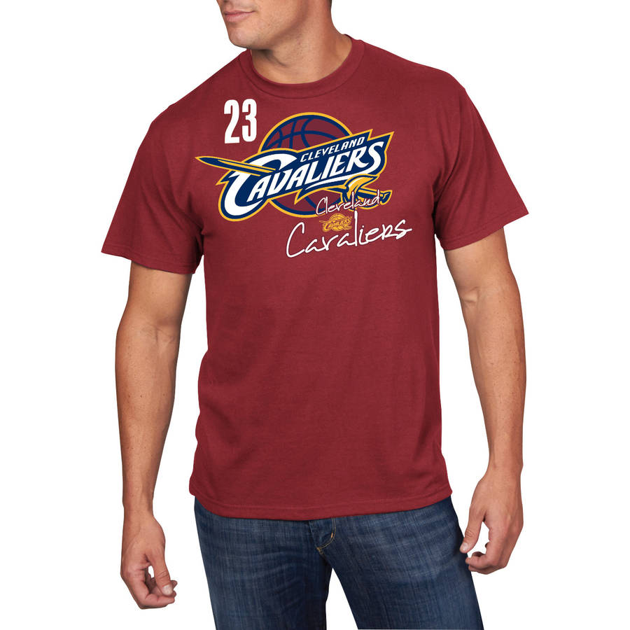 NBA Men's Cleveland Cavaliers Short Sleeve LeBron James Player Tee
