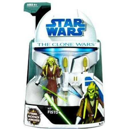 Star Wars The Clone Wars Clone Wars 2008 Kit Fisto 3.75