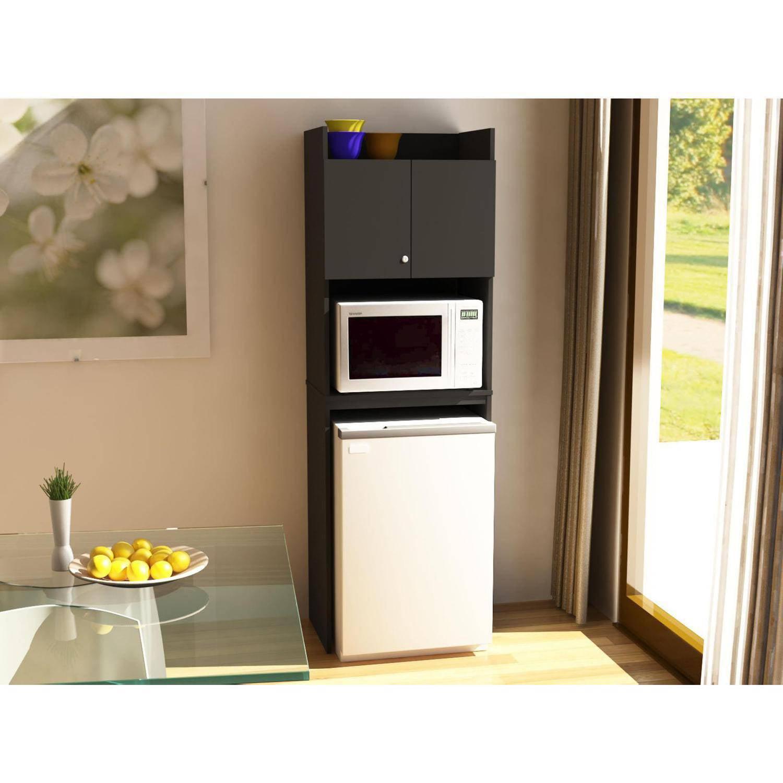 Refrigerator Storage Unit, Black Stipple
