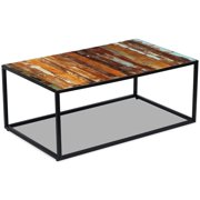 "Coffee Table Solid Reclaimed Wood 39.4""x23.6""x15.7"""