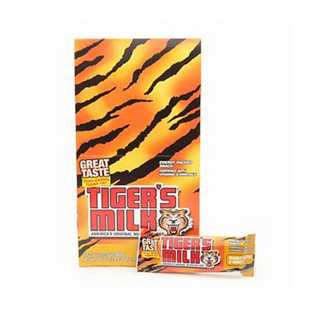 96 PACKS : Tigers Milk Peanut Butter Honey Bar