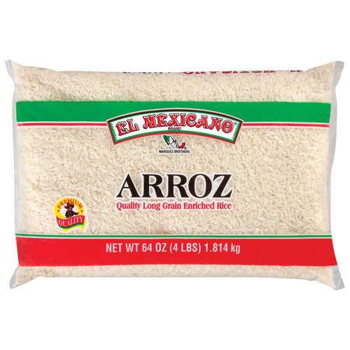 LONG GRAIN RICE ENRICHED WITH IRON (FERRIC ORTHOPHOSPHATE), NIACIN, THIAMINE (THIAMINE MONONITRATE) AND FOLIC ACID.