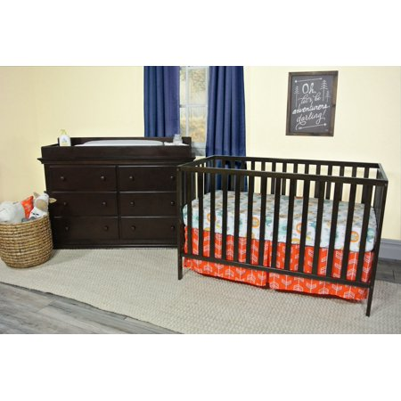 Suite Bebe - Palmer 3-in-1 Convertible Island Crib in Espresso ()