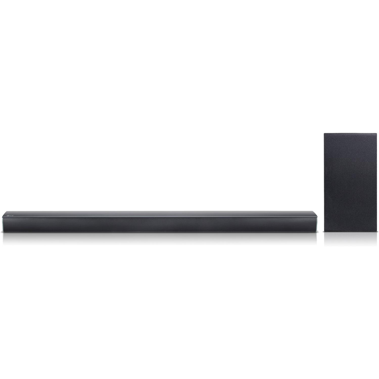 LG 2.1 Channel 300W High-Res Audio Soundbar System with Wireless Subwoofer - SJ4Y