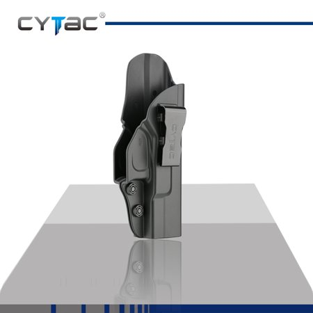 CYTAC Inside the Waistband Holster | Gun Concealed Carry IWB Holster | Fits GLOCK 19, 23, 32 (Gen (Best Deal On Glock 19)