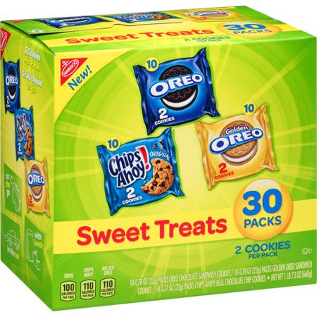 Nabisco Variety Pack Cookies, Sweet Treats, 30 Count - Sweet Treats For Halloween