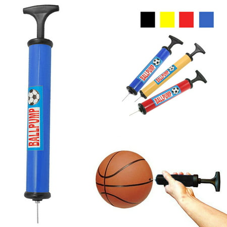 Ball Pump Sports Balls Handheld Air Inflator Needle Basketball Soccer - Basketball Pump Walmart