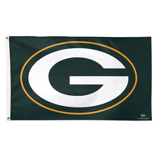 Green Bay Packers WinCraft Deluxe 3' x 5' Logo Flag - No Size](Green Bay Packers Flag)