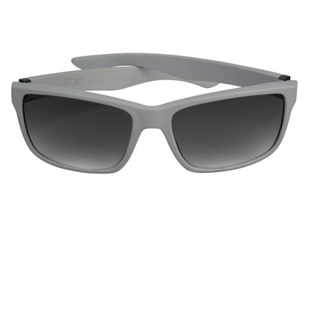 Scin Siesta Polarized Sunglasses (MATTE GREY - SHINY GUNMETAL / GREY GRADIENT (Matte Gunmetal Grey)