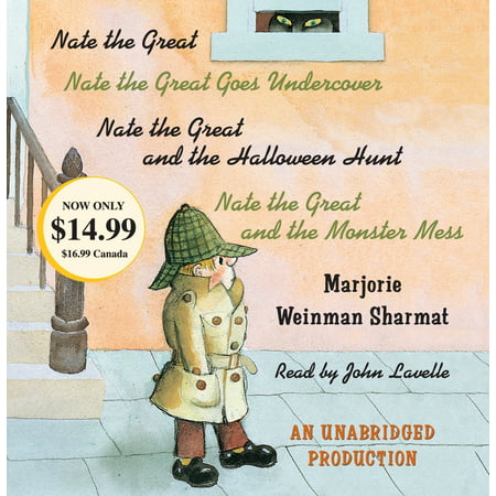 Nate the Great Collected Stories: Volume 1 : Nate the Great; Nate the Great Goes Undercover; Nate the Great and the Halloween Hunt; Nate the Great and the Monster Mess - Halloween Story Books For Kids
