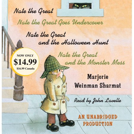 Nate the Great Collected Stories: Volume 1 : Nate the Great; Nate the Great Goes Undercover; Nate the Great and the Halloween Hunt; Nate the Great and the Monster Mess - Halloween Preschool Stories