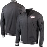 Mississippi State Bulldogs Colosseum Blade Full-Zip Jacket - Charcoal