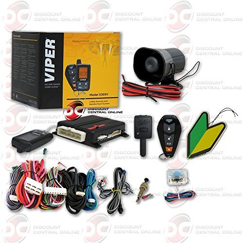 Viper Responder 2-way Car Alarm Security System with Keyl...
