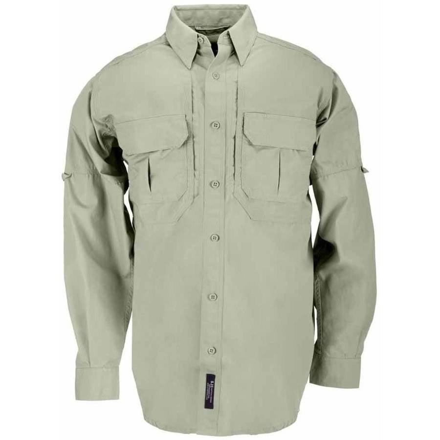 Cotton Tactical Long Sleeve Shirt, Sage