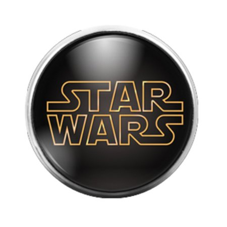 Star Wars - 18MM Glass Dome Candy Snap Charm GD0182 (Star Wars Candy)