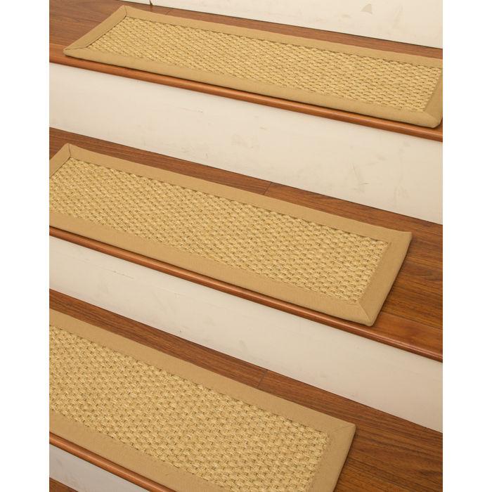Rio Sisal Carpet Stair Treads (Set of 13)