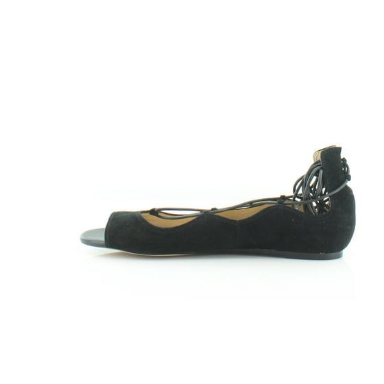 a459c8e1f26d Sam Edelman - Sam Edelman Womens Barbara Suede Open Toe Flats ...