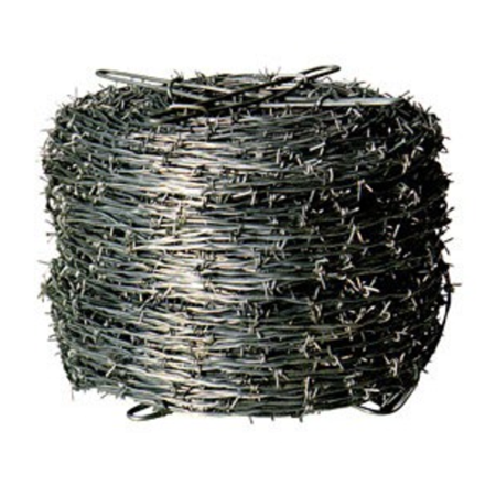 Red Brand 85584 Sierra Commercial Grade Barbed Wire, 12-3/4 Gauge