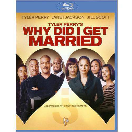 Tyler Perry's Why Did I Get Married? (Blu-ray) (With INSTAWATCH)