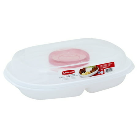 Rubbermaid Inc Party Take Along Platter