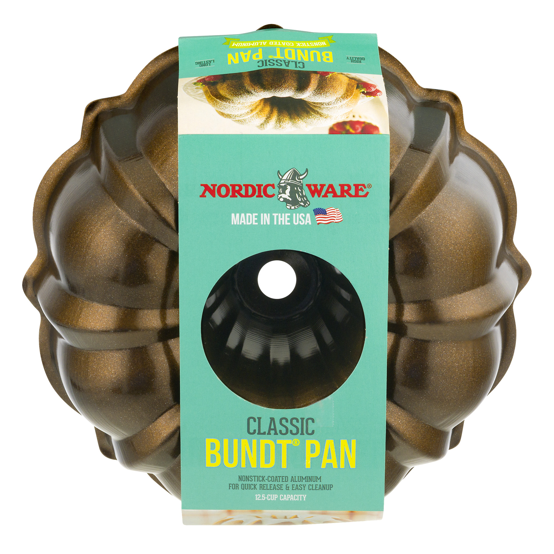 Nordic Ware Classic Bundt Pan, 1.0 CT Color May Vary