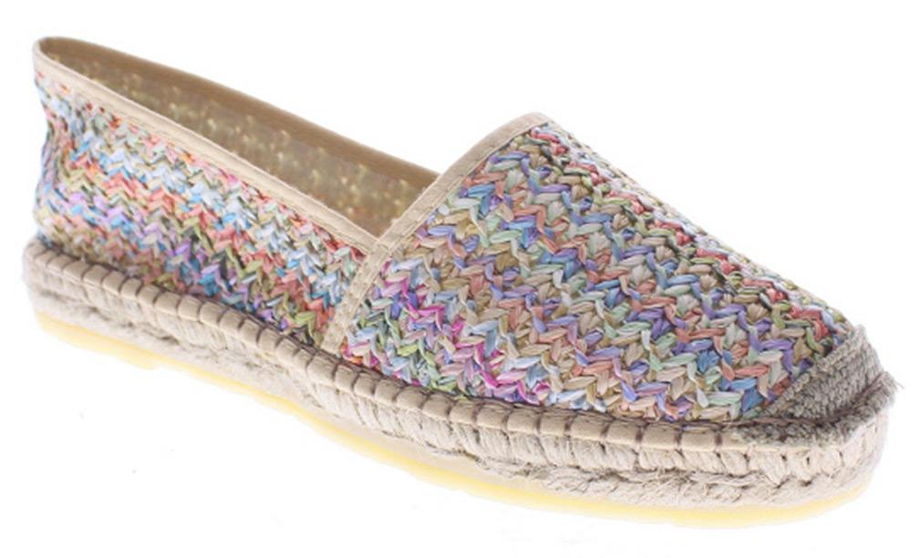 Azura Women's ADDAX Beige Loafers 38 M EU 7.5-8 M