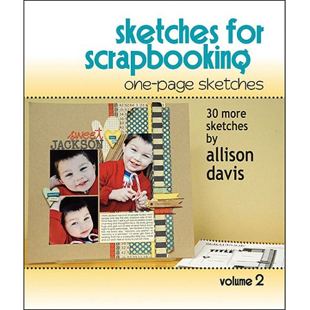 Scrapbook Generation, One Page Sketches For Scrapbooking Vol - Halloween Scrapbook Sketches