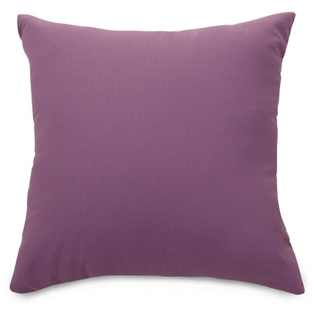 Majestic Home Goods Indoor Outdoor Lilac Solid Extra Large Decorative Throw Pillow 24 in L x 10 in W x 24 in H