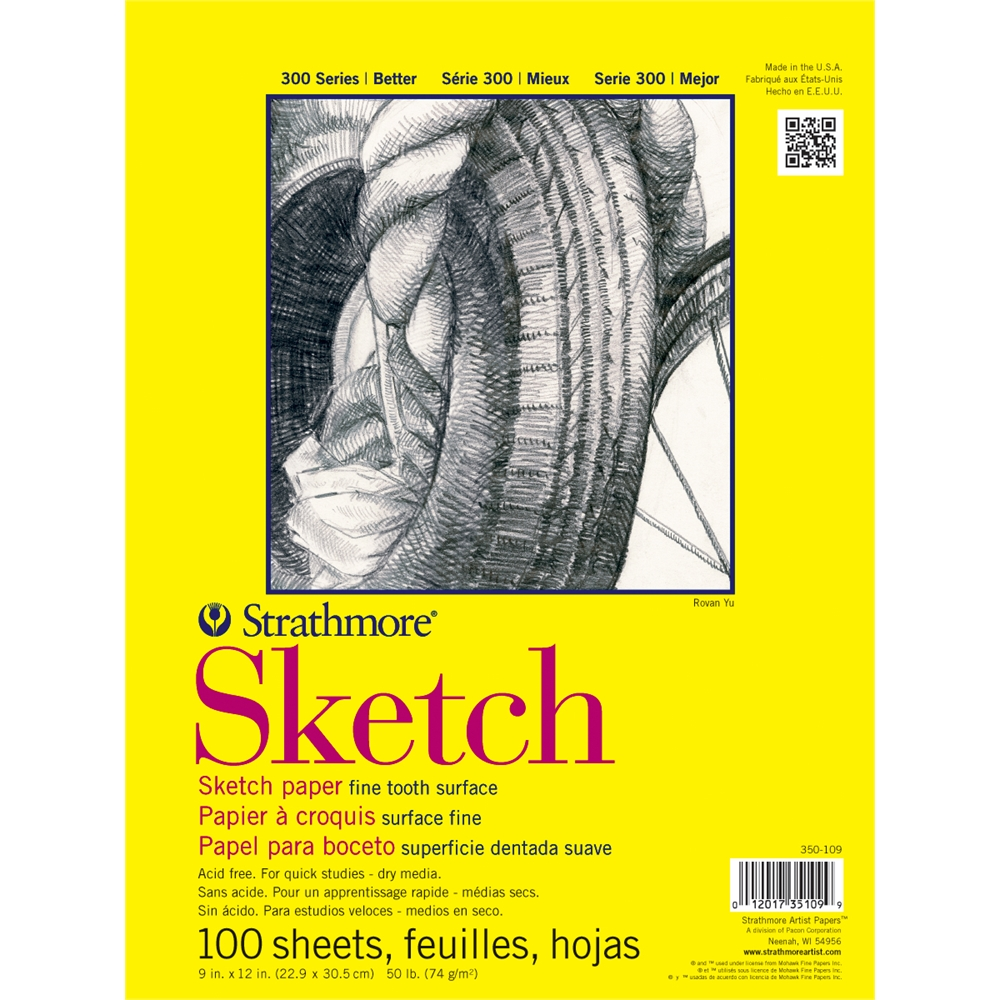 "Strathmore 11"" x 14"" Glue Bound Sketch Pad"