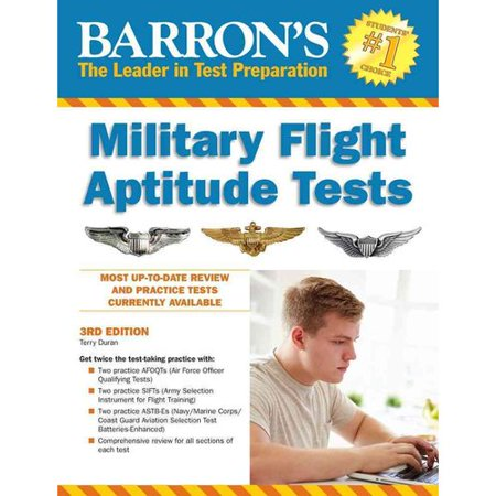 Barrons Military Flight Aptitude Tests