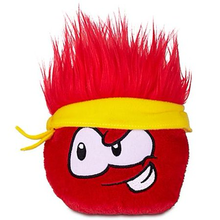 Club Penguin Series 12 Red Puffle Plush [Bandana]