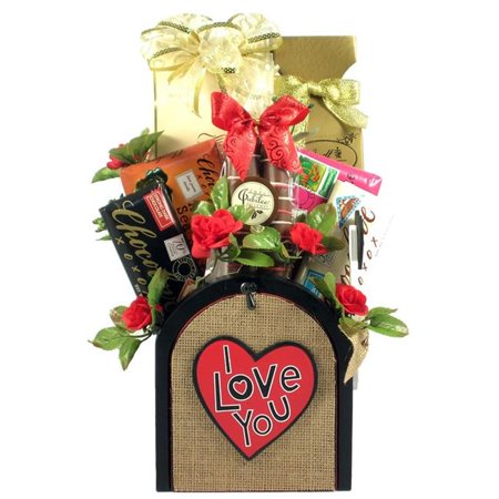 Gift Basket Drop Shipping SeAlMyLo Sending All My Love, Romantic Gift Basket ()
