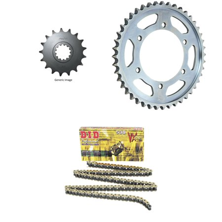 Did 530Vx Pro Street X Ring Vx Series Chain Gold Black  Sunstar Front   Rear Sprocket Kit For Street Yamaha Fz1 2004 2005