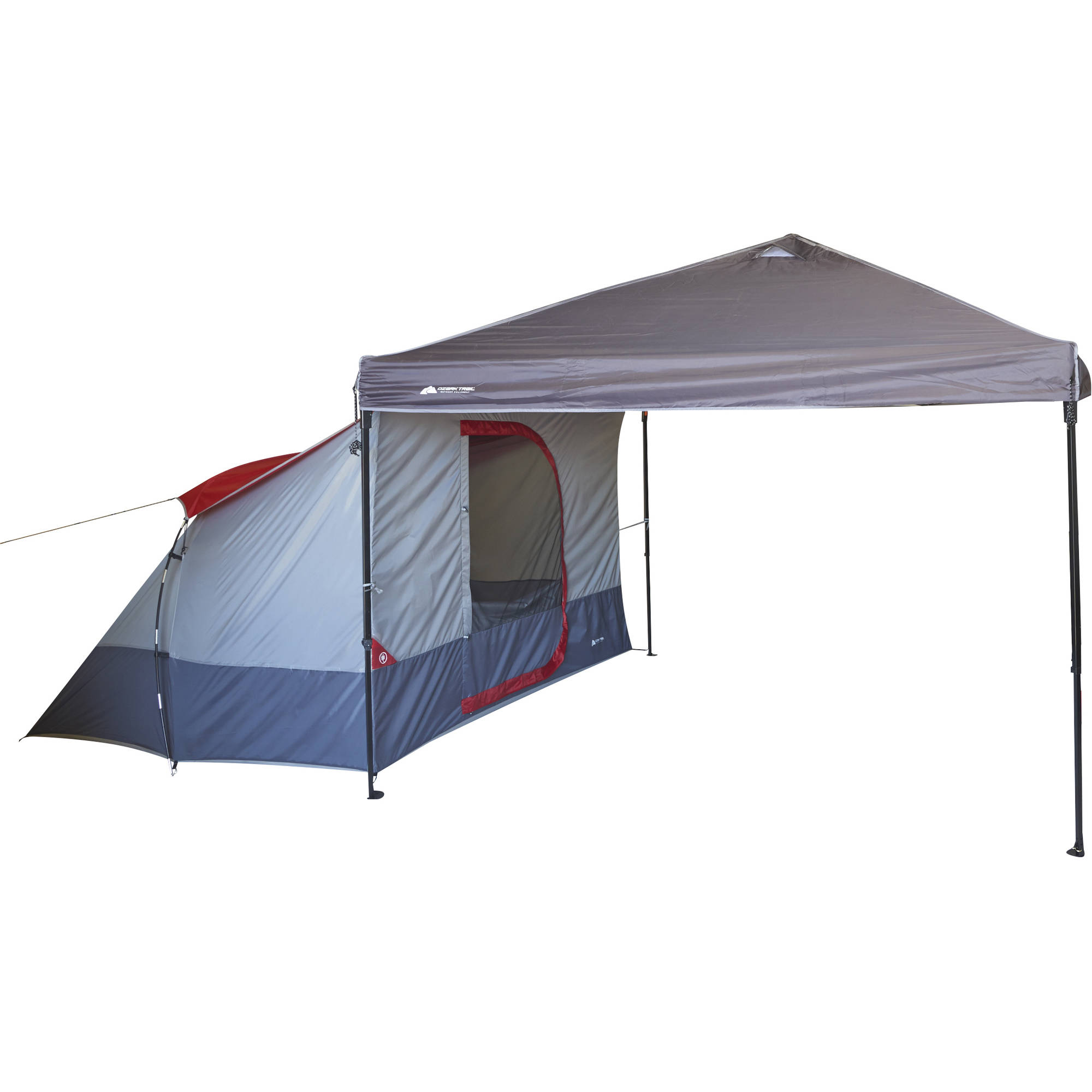 Ozark Trail 4-Person ConnecTent for Canopy  sc 1 st  Walmart : portable canopy tent walmart - memphite.com