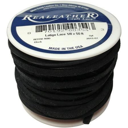 Realeather ROS50 1000 Latigo Lace Spool, 1/8