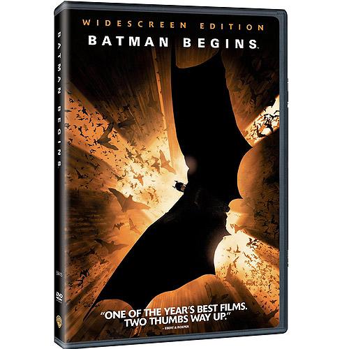 Warner Brothers Batman Begins Dvd Std Fw Excl