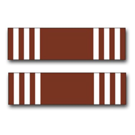 3.8 Inch Army Good Conduct Medal Ribbon Vinyl Transfer Decal